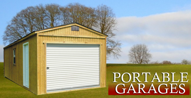 Garages, Derksen Portable Garages, Derksen Buildings Garage banner