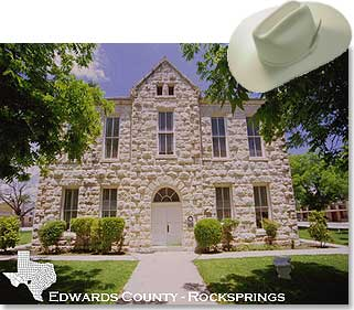 Rocksprings - Edwards County Courthouse - Rocksprings, Texas